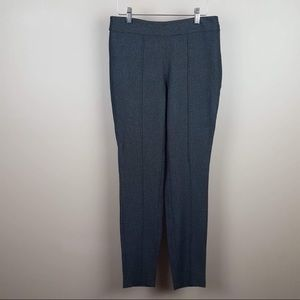 The limited black grey speckled ankle pants size 0